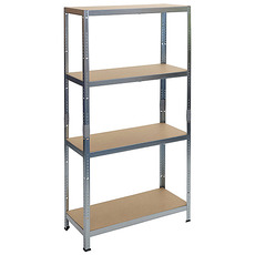 Regal Racks RAT20 HD, 1800x900x450 mm, kovový, max. 265 kg/polica